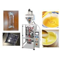 China Stainless Steel Automatic Liquid Pouch Packing Machine0.5 - 1% High Accuracy wholesale