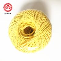 China UV Treated 100% Virgin Polypropylene Twine Rope Lasing And Packing 1 - 5mm wholesale