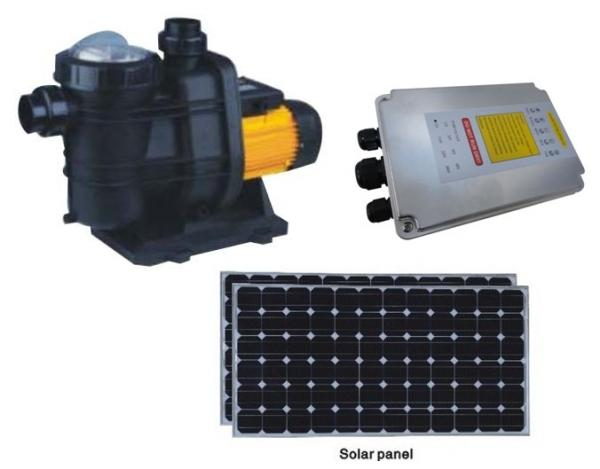 Solar for pool pump images for Solar powered swimming pool pump motor
