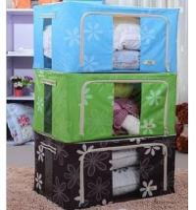 China Oxford cloth iron storage box / Cabernet box / storage box on sale