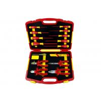 China 15pcs 1000V VDE Insulated Hand Tools of Insulated pliers and screwdrivers wholesale