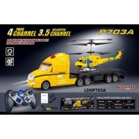 China 3.5CH rc helicopter 4ch rc truck with demo function,2 In 1 RC toys,RC heli,RC Truck on sale