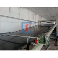 China PE / PVC Plastic Sheet Extrusion Line With High Plasticization Rate on sale
