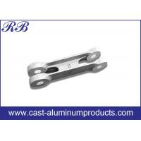 China Low Pressure Die Casting Cast Aluminum Products Door Link 371x66x80mm wholesale