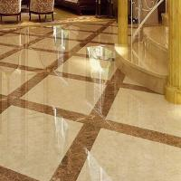 China Cut To Size Marble Stone Slab , Marble Style Floor Tiles High Hardness on sale