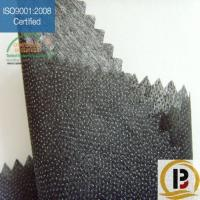 China PES double dot non woven interfacing on sale
