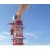 China Small Mast Section Tower Crane 10 Ton Max Load And 60m Jib Length wholesale