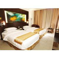 China Wooden Modern Hotel Bedroom Furniture , King Size Bedroom Suite wholesale