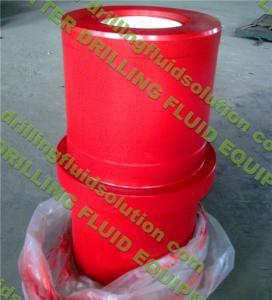 "China 5 1/2"" Ceramic Zirconia Liner zirconia sleeve HRC95 smooth F/National 12P-160/14P-220 Triplex Mud Pump Fluid End Parts wholesale"
