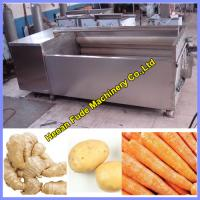 China ginger cleaning and peeling machine wholesale