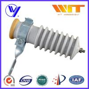 China 51KV Power Station Porcelain Substation Surge Lightning Arrester High Reliability wholesale