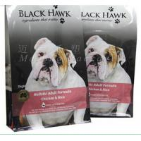 China Pet Food Packaging Flat Bottom Pouch Bag , Custom Printed Resealable Food Bags wholesale