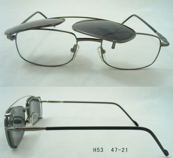 eyewear glasses  on sunglasses