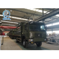 China NewSinotruk Cargo Truck Engine 290hp 4x2 Hw76 Cabin Green Color 102km/H Speed Diesel Type wholesale