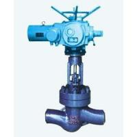 China Welded Stainless Steel Globe Valve With Electric Actuator Butt Welding Ends on sale