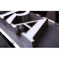 China USA Style Illuminated Channel Letters , 3D Channel Letters CE ROHS Certificated on sale