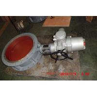 Gear / Pneumatic / Electric Carbon Steel Butterfly Valve for High Temp Gas