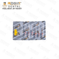 China Unique Flexibility 21mm Red Niti High Effective Super Flexi Files For Curved Root Canals wholesale