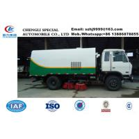 China new good performance dongfeng 4*2 LHD road sweeper truck for sale, HOT SALE! new style street cleaning vehicle on sale