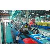 China Cold Steel Sheet Door Frame Roll Forming Machine , Metal Roofing Roll Forming Machine wholesale