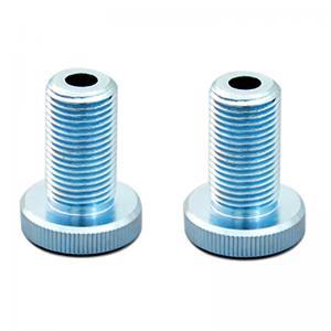 China Aluminum Parts Custom CNC Machining Anodizing Cr Zinc Plating Long Lasting on sale