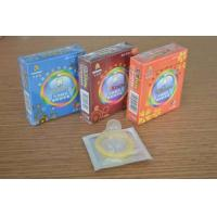 Buy cheap Custom Fitted Natural Latex G Spot Condom , Different Colored long duration condoms from wholesalers