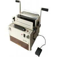 China 4 In 1 Wire Spiral Comb Binding Machine Paper Margin 2.5mm/4.5mm/6.5mmNb- 6918 on sale