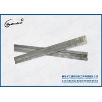 China Finished Grinding Straight Tungsten Carbide Strips For Cutting Wood High Hardness wholesale