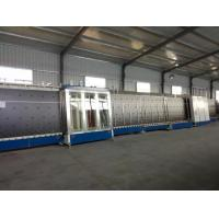 China Vertical Insulating Glass Production Line , Low - e Double Glazing Equipment wholesale