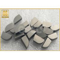 China W2 Cemented Carbide Tips TRS 1600 N / Mm2 For Semi Finishing Stainless Steel wholesale