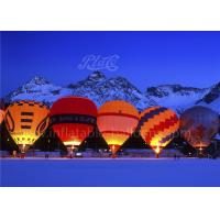 China 18m Hot Air Inflatable Advertising Balloons Durable Fireproof For 4 Peoples on sale