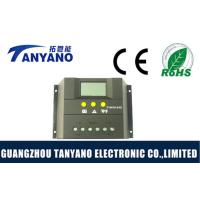China Black Housing 50A Solar Charge Controller with LCD 12V / 24V PWM Mode wholesale