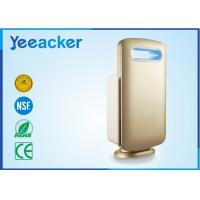 China Electrical White / Gold Smart Air Purifier Hepa Filter Applying Space 41 ㎡ – 60 ㎡ wholesale