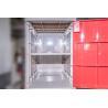 China Желтые пластиковые шкафчики школы 4 шкафчика яруса с вызреванием Падлок анти- УЛЬТРАФИОЛЕТОВЫМ wholesale