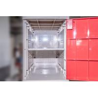 China 黄色いプラスチック学校のロッカー南京錠の反紫外線老化の4個の層のロッカー wholesale