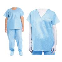 Buy cheap Anti Static Disposable Protective Gowns With EO And Radiation Sterilization from wholesalers