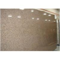 China Custom Tropical Brown Granite Floor And Wall Tiles CE Certification wholesale