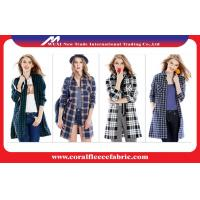 China Outdoor Cotton Spring Casual Womens Long Trench Coat In Europe And America wholesale
