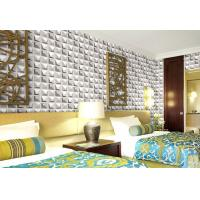China Interior 3D Design Wall Claddings TV Background Wallpaper Home Decor Wall Decals wholesale
