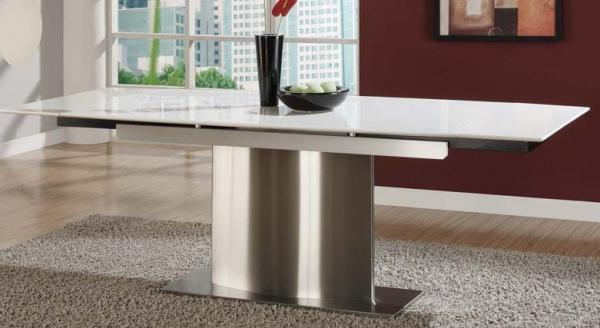 Quality Pure White Artificial Marble Dining Tables Modern Marble Top Kitchen Table for sale