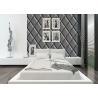 China Papel de parede lavável Strippable alto 0.53*10m da decoração da sala do couro de imitação wholesale