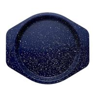 China Speckle Bakeware 9-Inch Round Cake Pan Deep Sea Blue Speckle Marble coating bakeware baking pan wholesale