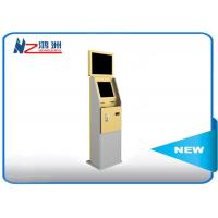 China Dual Display Bank Atm Machine With Stand Pc , Stand Alone Outdoor Kiosk on sale
