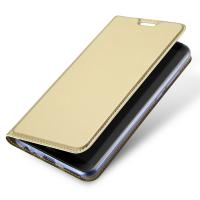 China Gold Huawei Phone Cases / Huawei Mate 10 Lite PU Leather Phone Cover With Magnet Gold wholesale
