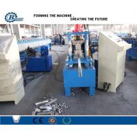 China High Precision Shutter Door Roll Forming Machine With PLC System for Aluminum Steel Sheet wholesale