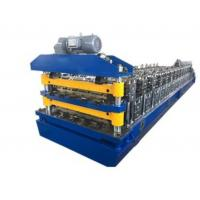 Buy cheap Double Layer Aluminum Roofing Sheet Roll Forming Machine Metal Tile Making Machine In China from wholesalers