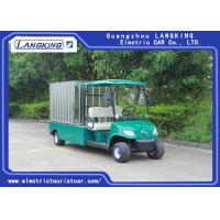 Buy cheap Customized Box Electric Cargo Van , Electric Food Van HS CODE 8703101900 from wholesalers