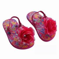 China Girl's Beautiful PVC Slippers on sale