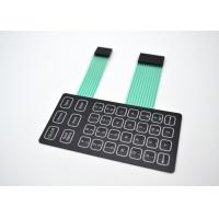 China Lightweight Metal Dome Membrane Switch With PET/PC/PMMA/PVC Flat Push Buttons on sale