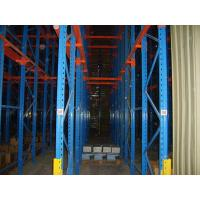 China Q235 / 345 Warehouse Storage Drive In Pallet Racking Drive Through Racks For Cold Room wholesale